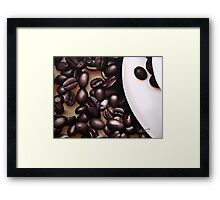 Raw Caffeine Framed Print