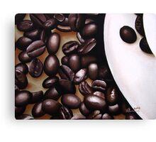 Raw Caffeine Canvas Print