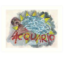 acquarius Art Print