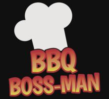 BBQ Boss man Barbecue chef by jazzydevil