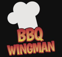 BBQ wingman with a chef hat by jazzydevil
