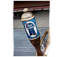 Pabst Blue Ribbon Beer Poster