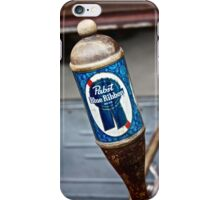 Pabst Blue Ribbon Beer iPhone Case/Skin