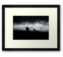 Night Rider Framed Print