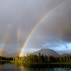 Triple Rainbow by Judith Winde