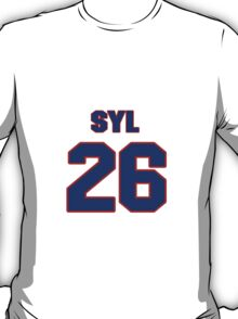 National Hockey player Syl Apps jersey 26 T-Shirt