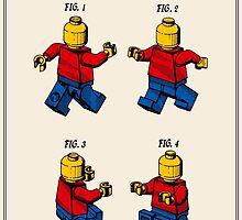 Lego Man Patent - Colour (v3) by FinlayMcNevin