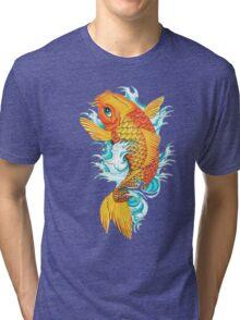 Carp Koi Tri-blend T-Shirt