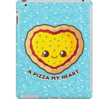 A Pizza My Heart [Blue] iPad Case/Skin