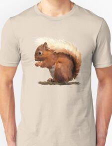 Red Squirrel Unisex T-Shirt