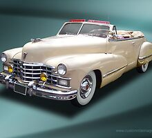 1947 Cadillac Series 62 Convertible by Chuck Cannova
