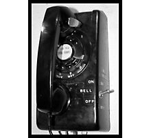 Land line Photographic Print