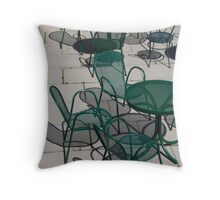 Chair Shadows Throw Pillow
