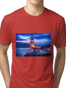 Golden Gate Bridge Tri-blend T-Shirt