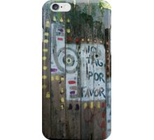 No Tag Por Favor iPhone Case/Skin