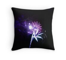 FIREWORKS 13 Throw Pillow