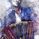 Jazz.Bandoneone player 02 by Yuriy Shevchuk