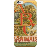 The ABCs of Animals iPhone Case/Skin
