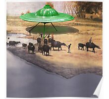 The 14,338 BC Mehrgarh UFO Landing Poster