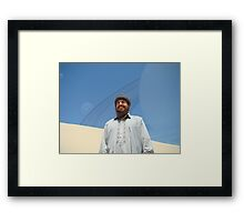 Your Pakistani Interstellar Ambassador is Working for You Framed Print
