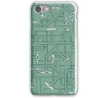 Green Pipes iPhone Case/Skin
