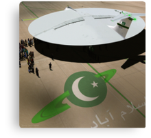 Be amazed at Pakistan's New Hyperdrive Saucer Ramjet Canvas Print