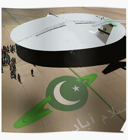 Be amazed at Pakistan's New Hyperdrive Saucer Ramjet Poster