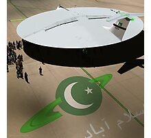 Be amazed at Pakistan's New Hyperdrive Saucer Ramjet Photographic Print