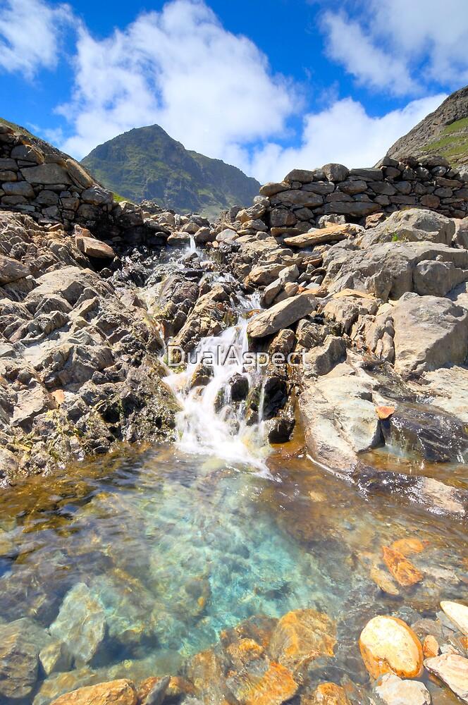 Snowdon falls by DualAspect
