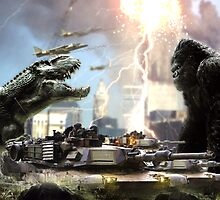 King Kong And The Texans by ultima944