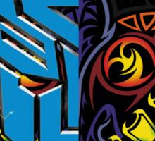 Majora's fan 101 logo stuff Sticker