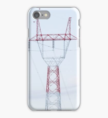 Electricity Pylon iPhone Case/Skin