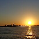 Mississippi River Sunset by Vesna ©