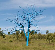 The Blue Tree by yewenyi