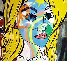 Pop art Barbie by Tara Filliater