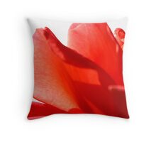 Rose Petals Throw Pillow
