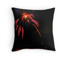 Firework 2008 Throw Pillow