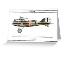 Albatros D.V Jasta 1 - 1 Greeting Card