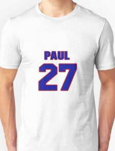 National Hockey player Paul Hurley jersey 27 T-Shirt