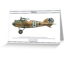 Albatros D.V Jasta 2 - 1 Greeting Card