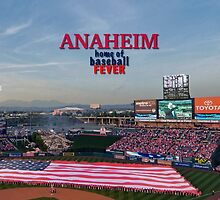Anaheim Home of Baseball Fever by don thomas