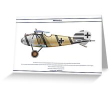 Albatros D.V Jasta 4 - 2 Greeting Card