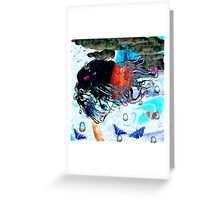 Sometimes we float  7 06 2008 Greeting Card