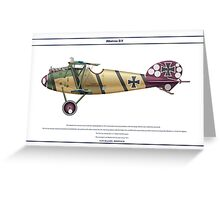Albatros D.V Jasta 4 - 3 Greeting Card