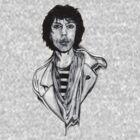 Mick 1978 by Steve Hester