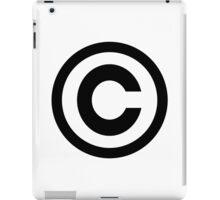 Copyright iPad Case/Skin