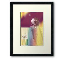 The Little Lotus Framed Print