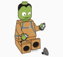 Space Legos Kids Tee