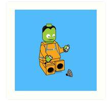 Space Legos Art Print