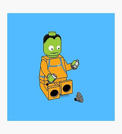 Space Legos Photographic Print
